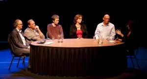 Geslaagde talkshow Kanker en Toekomst in het Speelhuis op 22 oktober 2013
