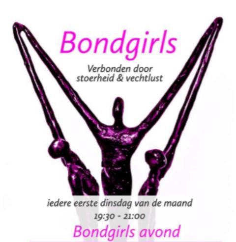 Bondgirls: verbonden door stoerheid en vechtlust