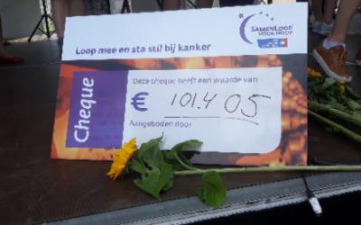 Vijfde editie Samenloop voor Hoop Helmond zeer geslaagd!