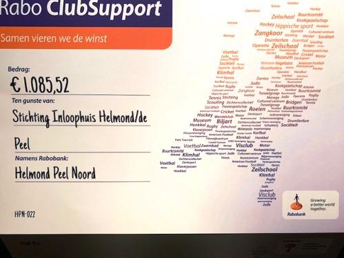 Bekendmaking stemming Rabo-Clubsupport