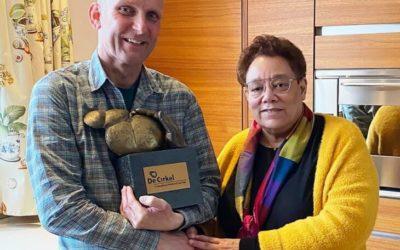 John van Bussel Vrijwilligersprijs 2020 van De Cirkel