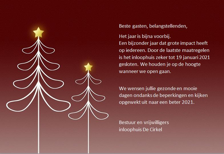 Kerstwens / De Cirkel is nog gesloten